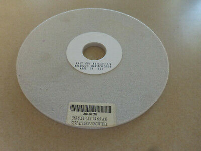 """A//O 80K Surface Grinding Wheel 8/"""" X 1//2/"""" X 1-1//4/"""" Made In USA NEW"""