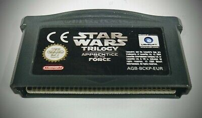 Star Wars Trilogy Apprentice of the Force PAL EUR Game Nintendo Gameboy Advance