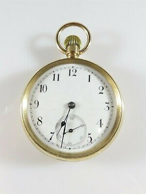 Waltham Pocket Watch Model 1888, Grade 20, 16s, 7 Jewel N. Daily Telegraph