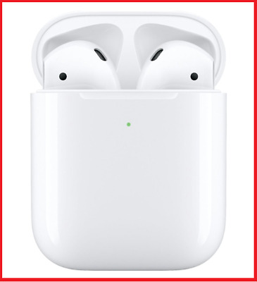 AirPods Wireless Headphones 2nd Generation Earbuds With Charging Case