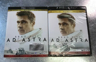 Ad Astra 4K Blu-ray Digital Slipcover Brand NEW FREE~First Class Shipping!