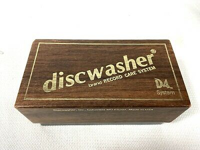 DiscWasher D4 Record Care System Vinyl Album Cleaner Set