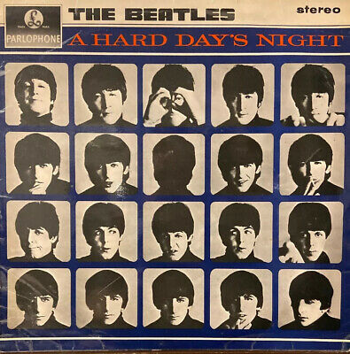 """The Beatles """"A Hard Day's Night"""" 1970's UK Pressing Super Clean"""