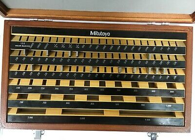 Mitutoyo 516-903 CASE for 81pc Rect. Steel Gage Block Set Gr. 3, 13 Gage Blocks