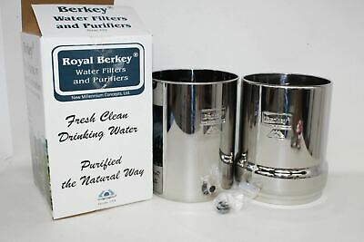 BERKEY Stainless Steel Water Purification Filter System With Out Filters BNIB