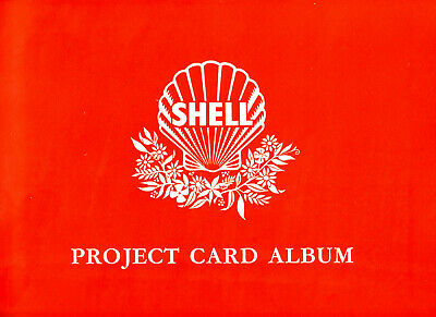 Shell Australia Project Card Album and 61 cards