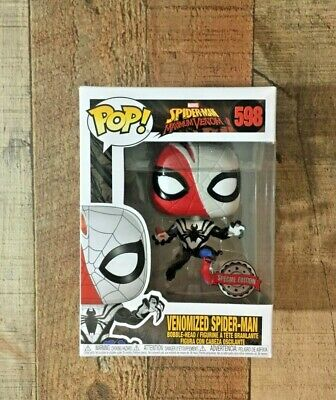 Funko Pop! Venomized Spider-Man Marvel Spider Man # 598 Maximum Venom
