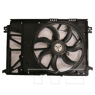 Dual Radiator and Condenser Fan Assembly TYC 620400 fits 02-06 Toyota Camry