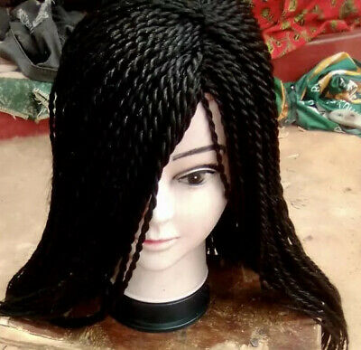 BRAIDED Twist WIG HANDMADE - Only Available In Blonde And Brown