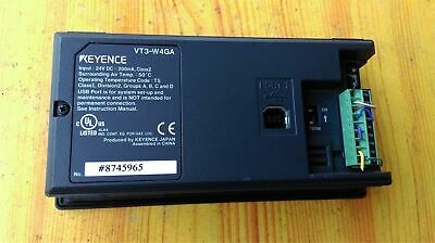 1PC USED Keyence VT3-W4GA Touch Panel Tested SPOT STOCKS