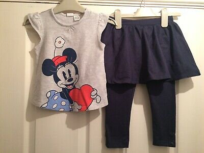 Cute Girls Minnie Mouse Outfit Aged 2-3 Years