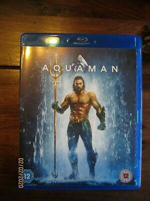 AQUAMAN Blu Ray **absolut wie NEU** in  Originalsprache English Englisch