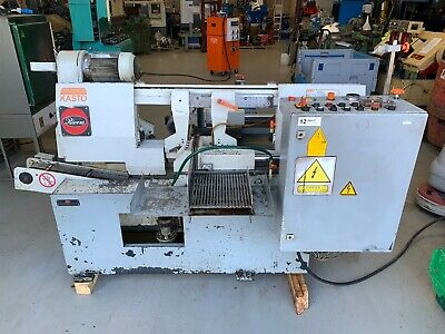 Kasto Sba 260 Au Automatic Horizontal Bandsaw With Roller Feed 3 Phase
