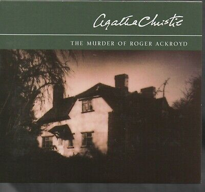 THE MURDER OF ROGER ACKROYD (Poirot) by Agatha Christie ~ Three-CD Audiobook