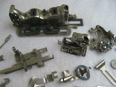 Assorted Box of Singer Sewing Machine Attachments Parts USA Made 22 Pcs Various
