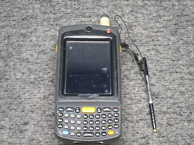 Motorola MC75A0 Handheld Barcode Scanner w/ Stylus and Battery *Tested Working*