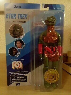 Mego limited edition Star Trek Gorn classic 8-inch action figure, MOC/low number