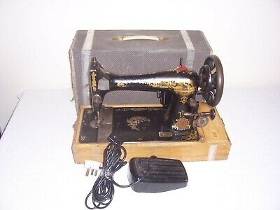 vintage singer electric sewing machine 99p no reserve
