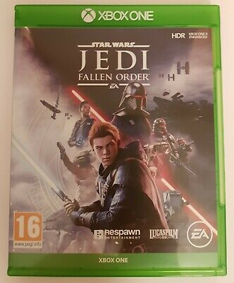 Star Wars Jedi: The Fallen Order for Xbox One & Xbox One X enhanced.