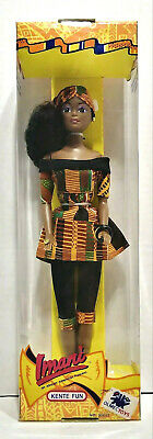 Olmec Toys Imani An African American Princess Doll w/ Pants