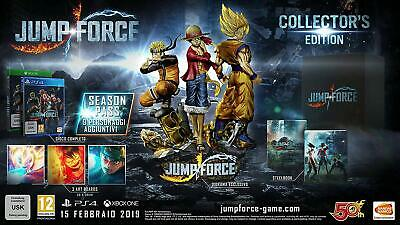 Jump Force Collector's Edition   PS4    PLAYSTATION 4  NUOVO