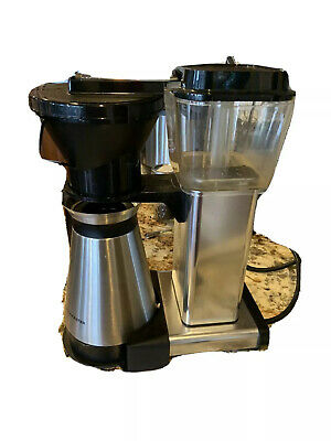 Technivorm Moccamaster 10 Cup Coffee Maker - Stainless Steel Carafe