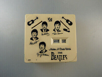 Spardose Kalender Make a Date with the Beatles um/ab 1965 (59247)