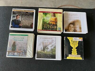 Lot of 6 Unabridged Audiobooks on CD Fisher Weiner Rivers Varty Simon Cleave