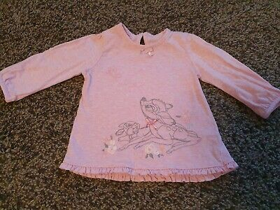 Baby Girls 3-6 Month DISNEY BAMBI Top Will Combine