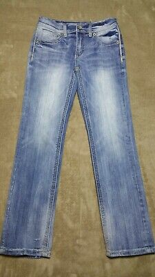 Buckle denim Jeans Pants BKE boys Conner Size 10 Straight Leg Stretch 24 x 26