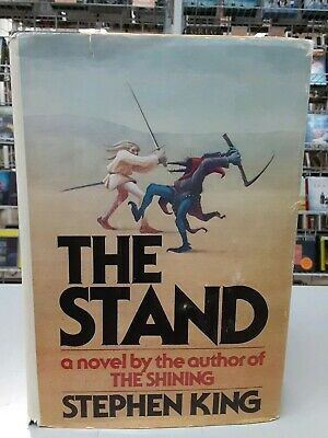 The Stand by Stephen King (1978, Hardcover) Early Cover, Y29 in the gutter