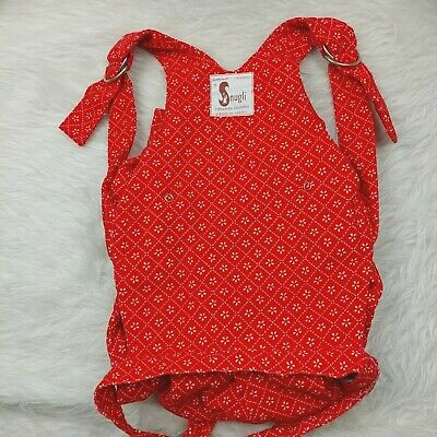 VTG 70's Snugli *For Play, Pretend* Kids Toy Baby Doll Carrier