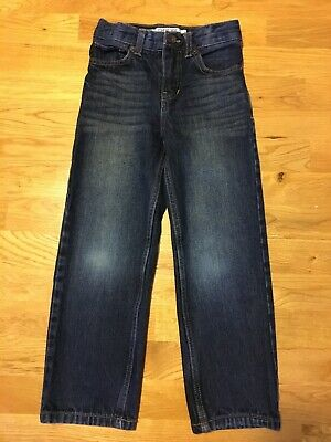 EUC Cherokee Size 5 /5T Boys Straight Denim Jeans Pants Bottoms Adjustable Waist