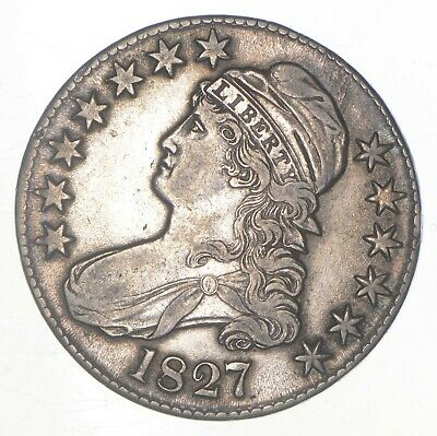 1827 Capped Bust Half Dollar *8032