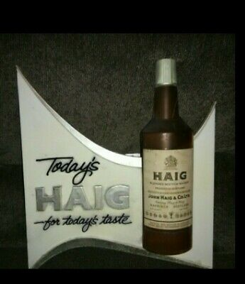 Vintage Haig alcohol sign Advertising