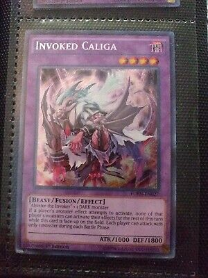 Yugioh Invoked Caliga FUEN-EN027 Secret Rare 1st Edition
