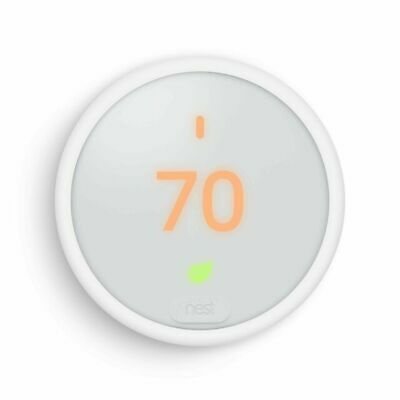 Nest Thermostat E, Smart Thermostat, White, Google T4000ES - Unopened, New