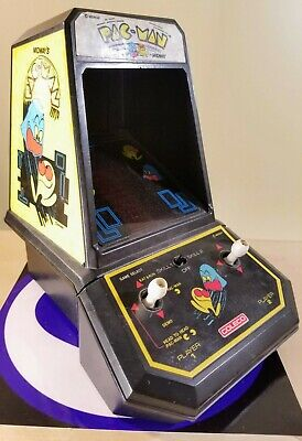 Vintage Coleco Pacman Mini Arcade Game Midway 1981 Works Nice Shape