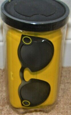SNAPCHAT SPECTACLES GLASSES FOR iPHONE 6 & 5 MODELS - BLACK - BRAND NEW SEALED
