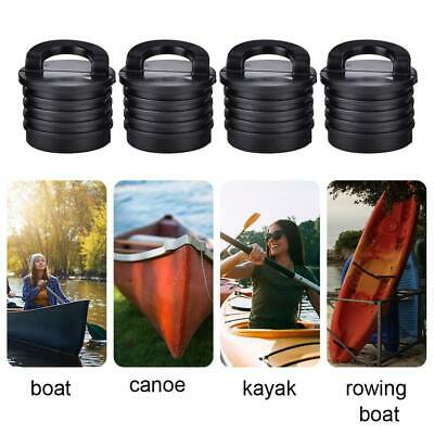 4pcs Silicone Kayak Marine Boat Scupper Stopper Bungs Drain Holes Plugs
