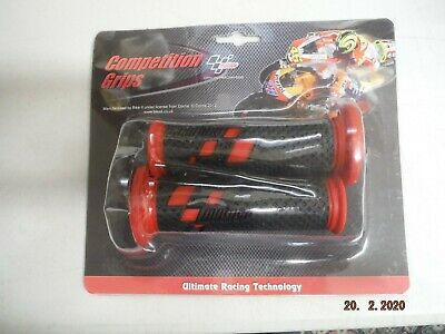 Motogp Competition Grips Black/Red