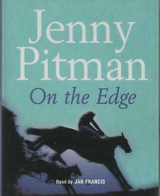 ON THE EDGE by Jenny Pitman ~ Two-Cassette Audiobook