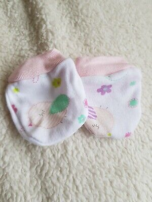 Newborn Girl Mittens