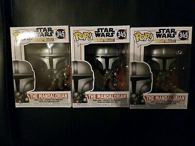 Funko Pop! Star Wars The Mandalorian #345 Gun On Side In Hand Ships Today