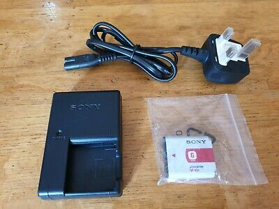 Original Sony BC-CSNB BC-CSN Charger with a genuine NP-BN1 Battery for Sure-Shot