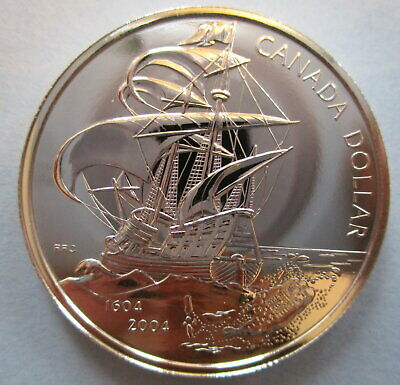 2004 Canadian Anniversary of First French Settlement 8-Coin Silver Proof Set OGP