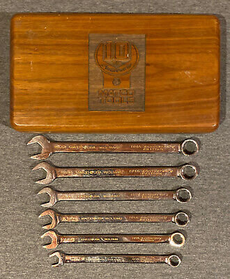 Matco Tools 10th Anniversary Collector's Series Metric Wrench Set 10mm-15mm
