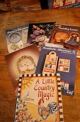 Tole Painting Book Lot of 5 (Lot #2)