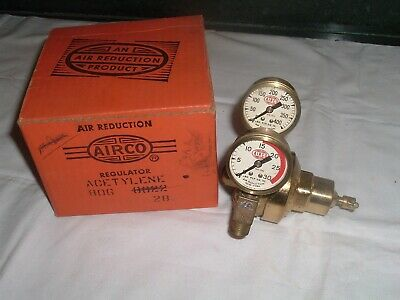 NOS AIRCO Cutting Welding Torch Regulator 806 8002 Acetylene New Old Stock