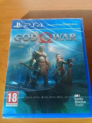 jeu PS4 - GOD OF WAR - playstation 4 - NEUF